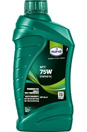 Eurol MTF 75W GL4 - синтетическое трансмиссионное масло